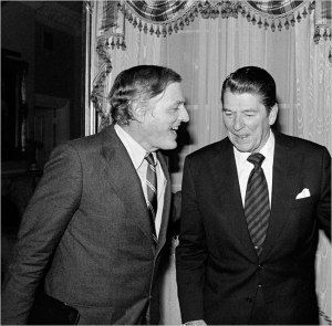 "Buckley: ""They are holding out for the ideal Conservative candidate."" Reagan: ""Really? Does one exist?"""